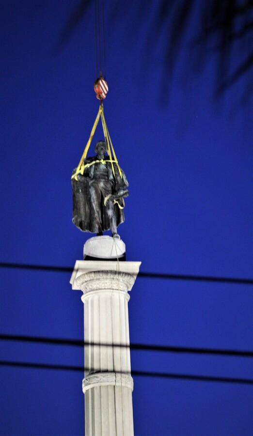 Removal of the John C. Calhoun Monument