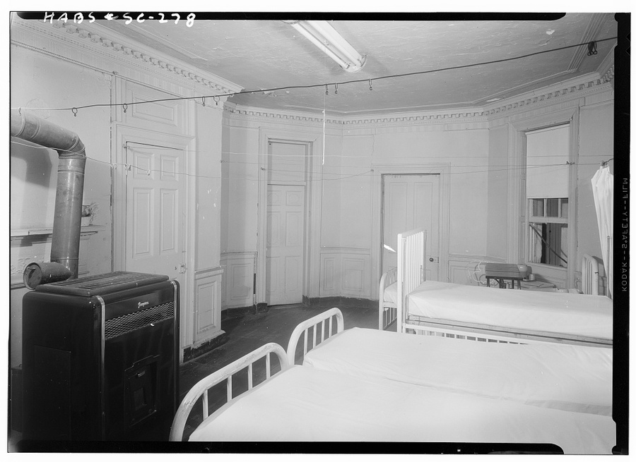 Interior Room of Cannon Street Hospital